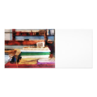 Dry Goods for Sale Rack Card