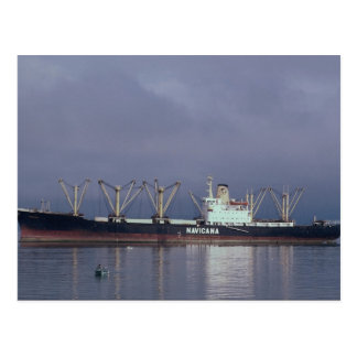 Dry goods freighter post cards
