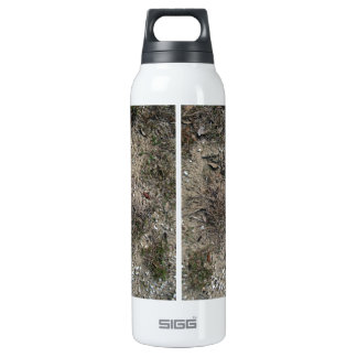 Dry Grass And Stony Ground Close Up 16 Oz Insulated SIGG Thermos Water Bottle
