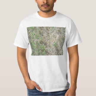 Dry Grass Seamless Texture T Shirt