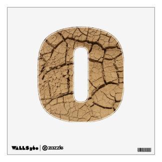 Dry ground in Death Valley Wall Sticker