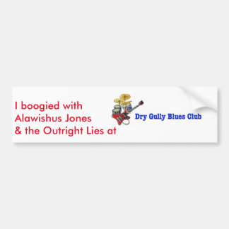 Dry Gully Outright Lies Sticker