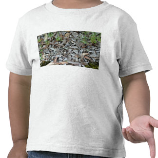 Dry gum leaf background texture t shirts