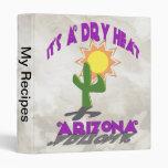 Dry Heat Arizona Vinyl Binder