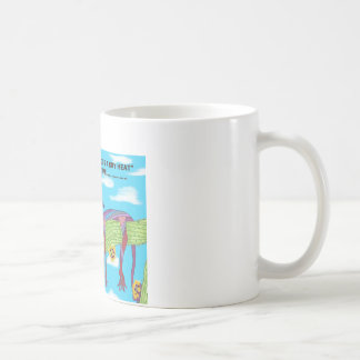 DRY HEAT CLASSIC WHITE COFFEE MUG