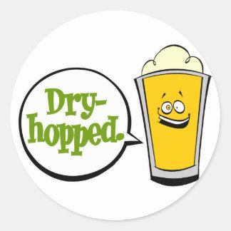 Dry-hopped Classic Round Sticker