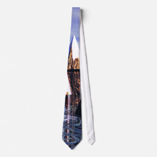 Dry Ice Ys Reflections Men's Tie by cricketdiane