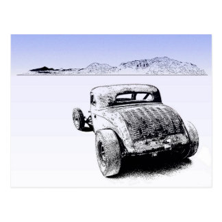 dry lake postcard