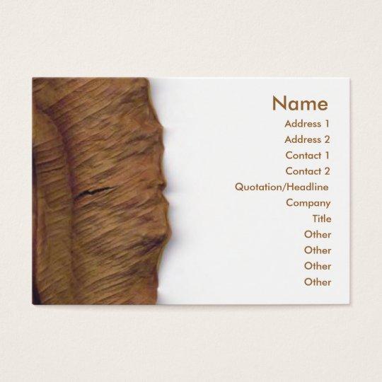 Dry Leaf Business Card