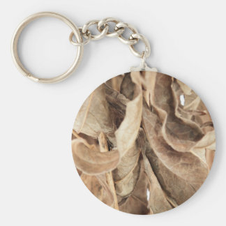 Dry Leaves Keychain