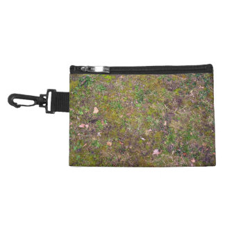 Dry Leaves On Mixed Grass Ground Accessories Bags