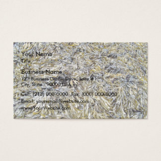 Dry Leaves Texture Business Card