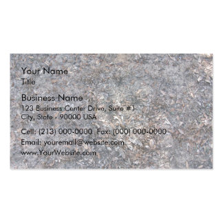 Dry Leaves Texture On Ground Business Card Template