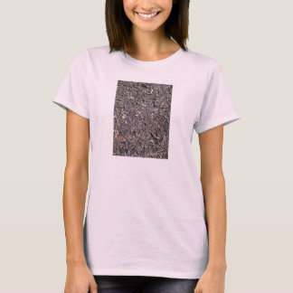 Dry Leaves Texture On Ground T-Shirt
