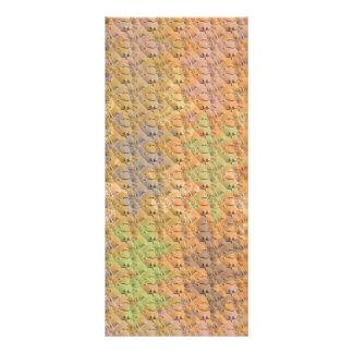 Dry Mud Wave pattern & Rare Earth Color Sprinkle Rack Card