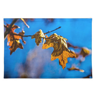 Dry oak leaf - Spring is nor far off Placemat