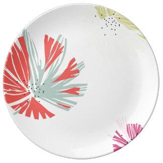 Dry Paint Decorative Plate Porcelain Plate
