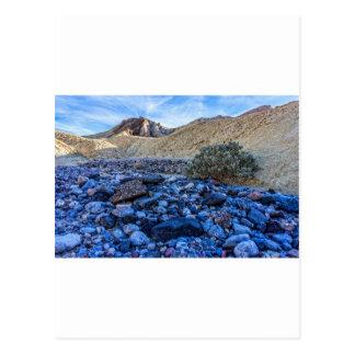 Dry Riverbed and Landscape Postcard