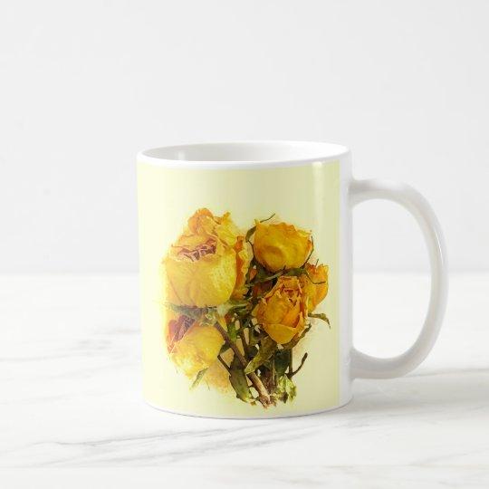 Dry Roses Coffee Mug