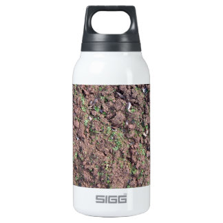 Dry Soil and Grass Blooming 10 Oz Insulated SIGG Thermos Water Bottle