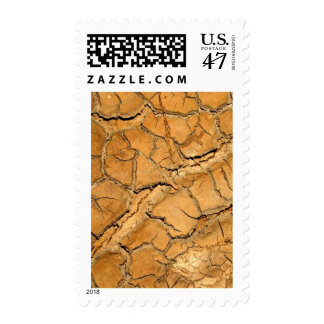 dry  soil  / crack earth postage