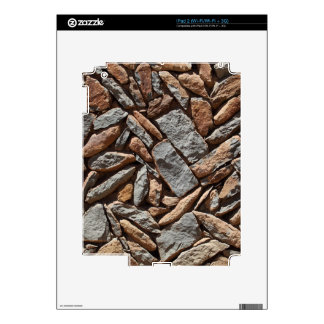 Dry stone wall iPad 2 decals