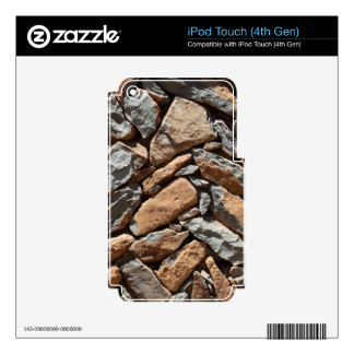Dry stone wall iPod touch 4G skins