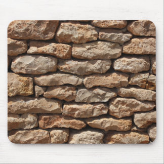 Dry Stone Wall Mouse Pad