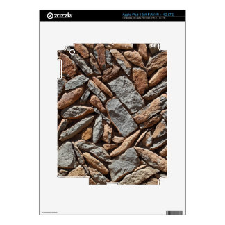 Dry stone wall skin for iPad 3