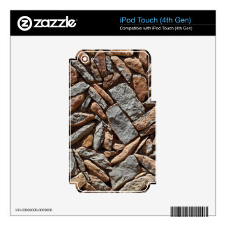Dry stone wall skin for iPod touch 4G