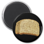 Dry Toast 2 Inch Round Magnet
