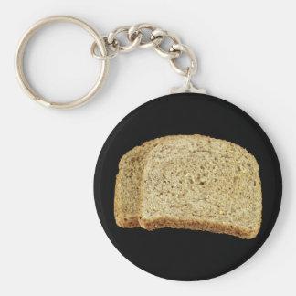 Dry Toast Basic Round Button Keychain