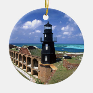 Dry Tortugas Florida Ceramic Ornament
