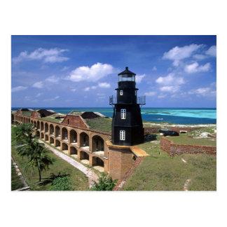 Dry Tortugas Florida Postcard