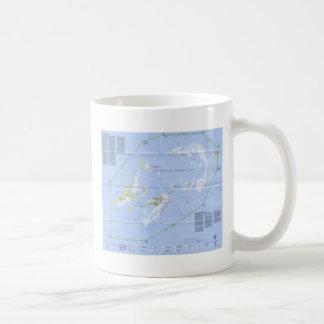 Dry Tortugas Map Coffee Mug