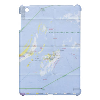 Dry Tortugas Map iPad Mini Cases