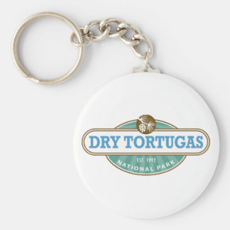 Dry Tortugas National Park Basic Round Button Keychain