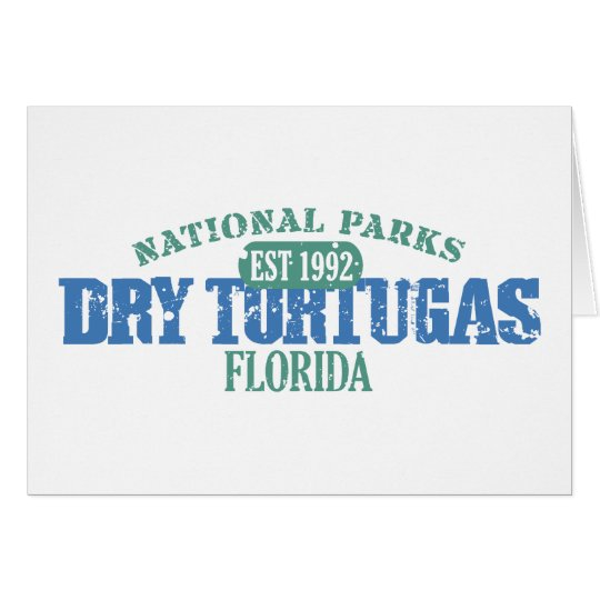 Dry Tortugas National Park Card