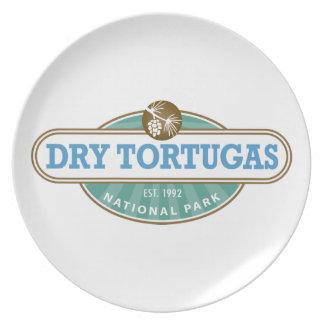 Dry Tortugas National Park Melamine Plate
