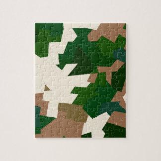 Dry Tundra Camo Jigsaw Puzzle