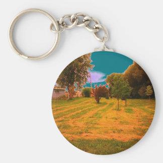 Dry Woods Keychain