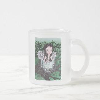 Dryad 10 Oz Frosted Glass Coffee Mug