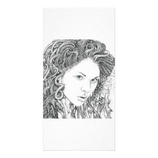 Dryad (face) - Photo Card
