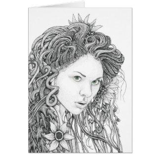 Dryad (full version) - Blank Greetings Card
