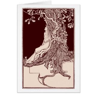 Dryad Greeting Card