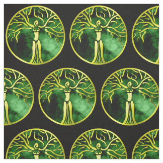 Dryad Medallion Fabric