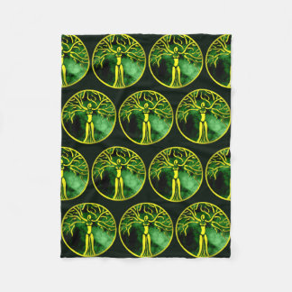 Dryad Medallion Fleece Blanket