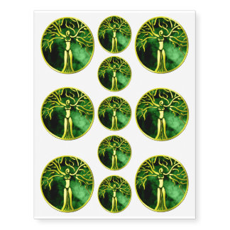Dryad Temporary Tattoos