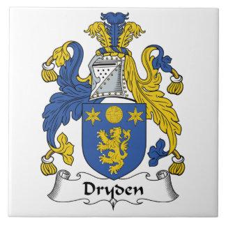 Dryden Family Crest Ceramic Tile