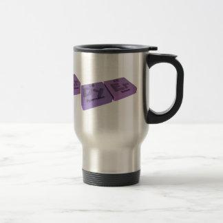 Dryer as Dy Dysprosium and Er Erbium Travel Mug